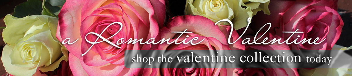 Be Romantic! Valentine's Day is February 14th, send a bouquet of fresh romantic valentine flowers
