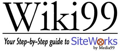 Wiki99 for SiteWorks Floral Website Management